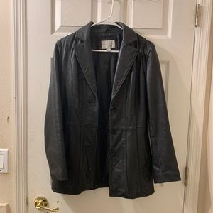 Worthington genuine lambskin coat